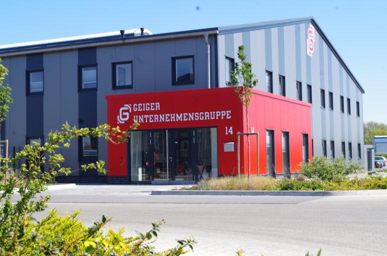 Geiger Firmensitz, neues Firmengebäude