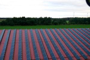Photovoltaikanlage gesamte Dachfläche